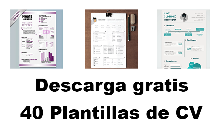 Descarga Gratis 40 Plantillas De Curriculum Vitae Para Este 2019 Pymex