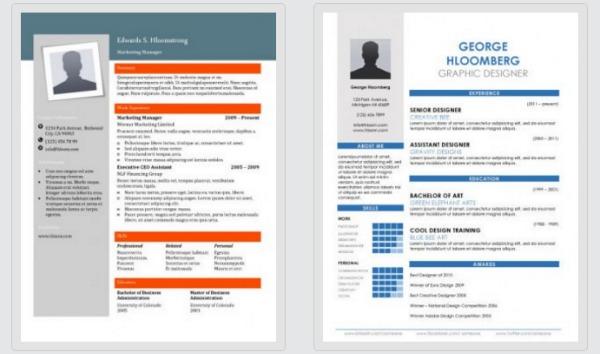 descarga gratis 300 plantillas en word para elaborar tu currículum